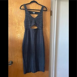 Ecote cut out maxi dress M